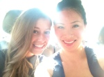 Lindsay and I